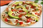 Chicken Avocado Flatbread Recipe