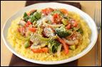 Veggie Primavera Spaghetti Squash Recipe