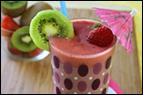Hungry Girl's Strawberry Kiwi Smoothie Recipe