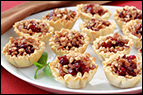 Cranberry & Cheese Fillo Shells Recipe