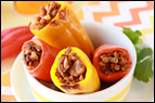 4-Ingredient Mini Stuffed Peppers Recipe