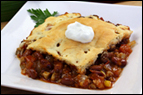 Biscuit-Topped Baked Chili