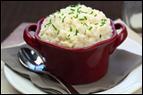 Cheesy Mashed Cauliflower
