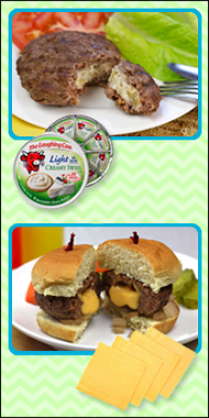 Hungry Girl's Stuffed Burgers