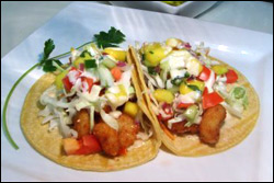 Crispy Shrimp Tacos, Average
