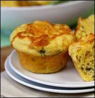 HG's Cheesy Jalapeño Corn Muffin