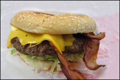 Bacon Cheeseburger, Average