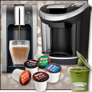 Coffee by the K-Cup!