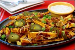 HG's Hot-Stuff Bacon Cheese Fries