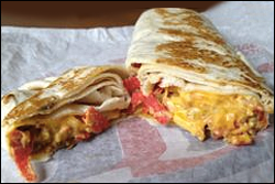 Taco Bell Nacho Wrap Guilt-Free Cheesy Wrap...