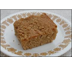 Coffee Crumb Cake, Average