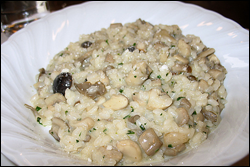 Mushroom Risotto, Average
