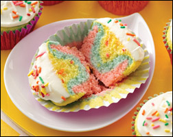HG's Tie-Dye-For Cupcakes