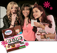 Nick Stars Jennette and Ariana <br/>Chewin' Whoopie Pies with HG Lisa!