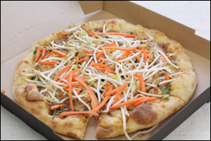 California Pizza Kitchen's Thai Chicken Pizza
