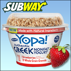 Subway Hops on the Greek-Yogurt Bandwagon! (Or Did the Bandwagon Hop on the Subway?)