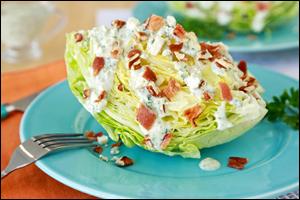 HG's Hungry Goddess Wedge Salad