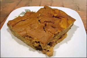 Pumpkin Bread Pudding, Average