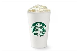 Starbucks' White Chocolate Mocha