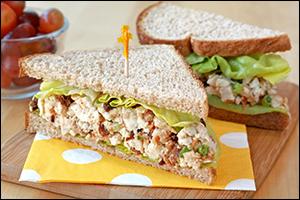 Chop-tastic Chicken BLT Sandwich