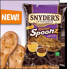Snyder's Pretzel Spoonz