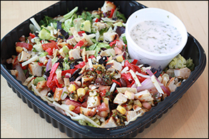 Applebee's Fiesta Chicken Chopped Salad