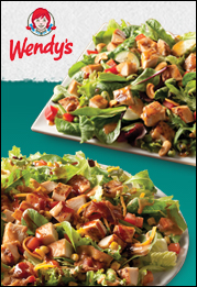 Two Exciting New Salads at Wendy's!