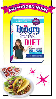 <em>The Hungry Girl Diet</em> launches March 25th! AAHHHHH!!!
