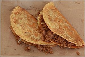 Crunchy Beef Tacos, Average