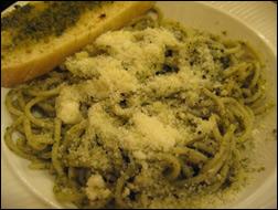 Spaghetti with Pesto, Average