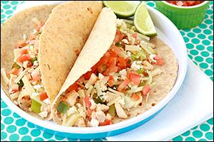 Hungry Girl's Baja Chick Tacos