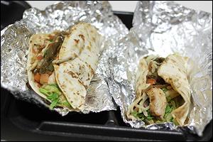 Ruby Tuesday's Baja Chicken Tacos Combo