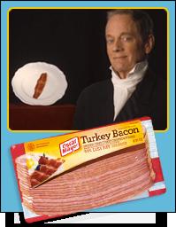 Overshadowed Bacon: Turkey Bacon & Michael Bacon