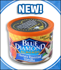 Blue Diamond Flavored Honey Roasted Almonds