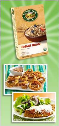 Make Natural Faux-Frys with Nature's Path SmartBran Cereal