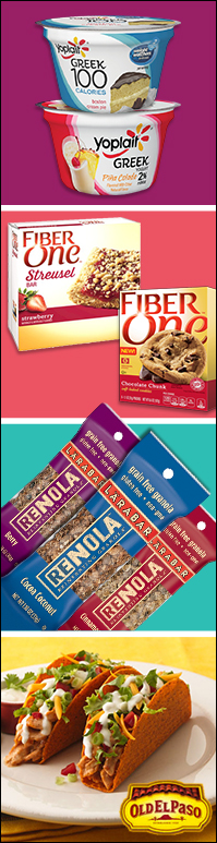 General Mills' generally awesome new products!