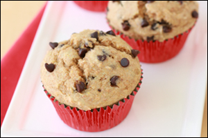 Hungry Girl's Best-Ever Chocolate Chip Muffins