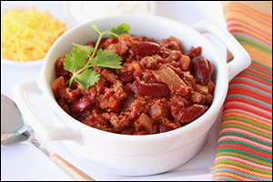 Hungry Girl's Big Beef Chili