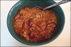 Beef Chili, Average