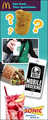Fast-Food News: McDonald's, Starbucks, Taco Bell, Sonic