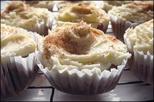 Pumpkin Spice Latte Cupcakes, Average