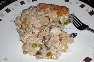 Chicken Tetrazzini, Average