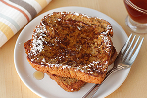 Hungry Girl's Very Merry Gingerbread French Toast