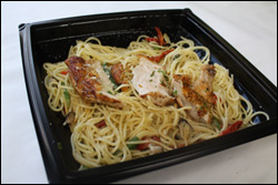 The Cheesecake Factory's Garlic Noodles with Chicken