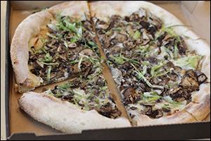 California Pizza Kitchen's Wild Mushroom Pizza