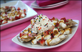 HG's Sweet-Tooth-or-Dare Dessert Nachos