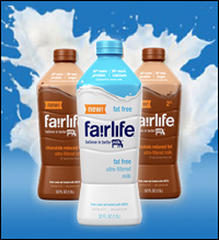 Fairlife Milk: 50 percent more protein