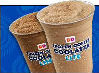 Dunkin' Donuts Coolatta Lite Blended Drinks