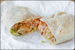 Del Taco's Epic Chicken Chipotle Ranch Burrito