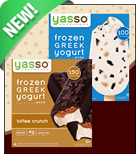 New Varieties! Yasso Frozen Greek Yogurt Bars